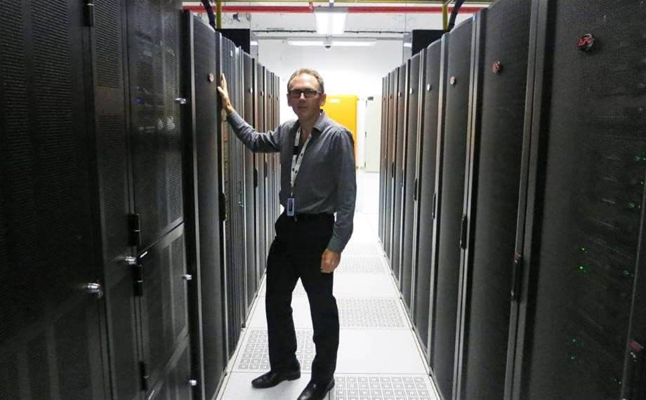 Behind the scenes at rare CBD data centre
