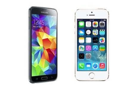 Head-to-head: Samsung Galaxy S5 vs. Apple iPhone 5S