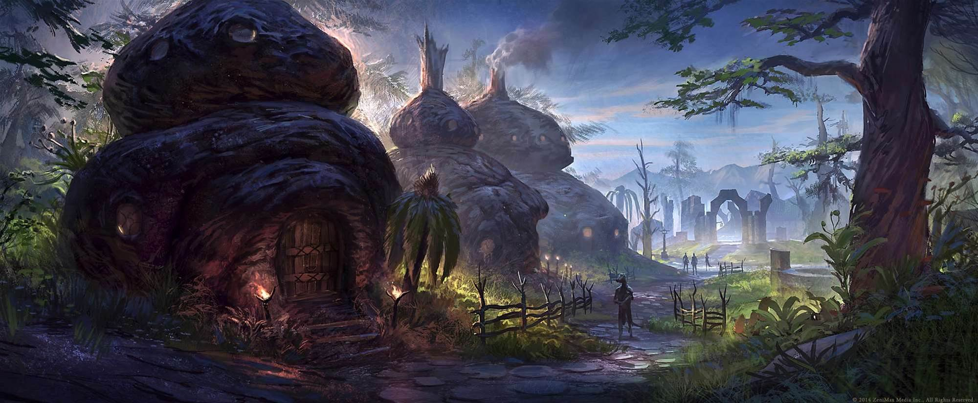 Concept and Lore designers walk us through new art from Elder Scrolls Online