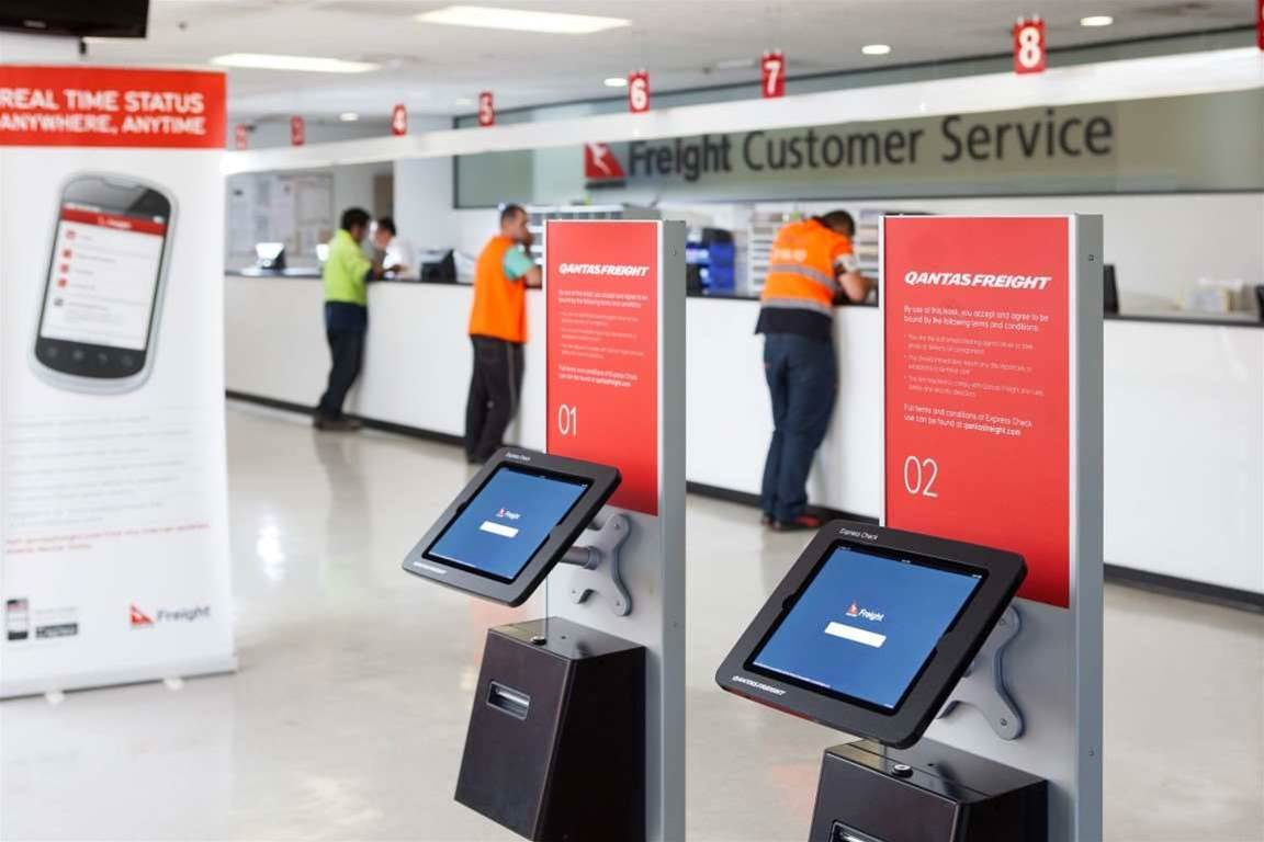 Photo tour: Qantas Freight's self-service system