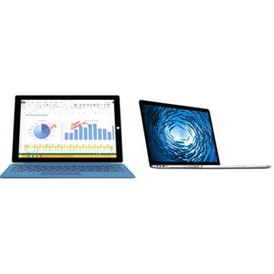 Head-to-head: Microsoft Surface Pro 3 vs Apple MacBook Air