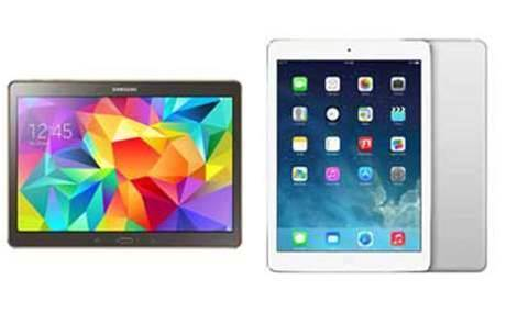 Head to Head: Samsung Galaxy Tab S vs Apple iPad Air