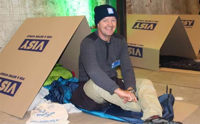 Spotted: Channel and vendor bosses at CEO Sleepout