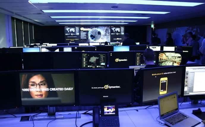 Photos: Symantec's new Sydney security centre