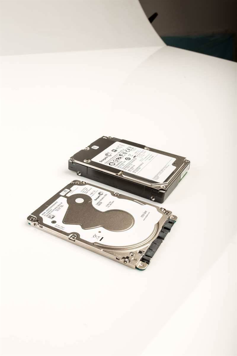 Seagate drive teardown