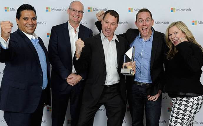 Photos: Microsoft Australia Partner Awards