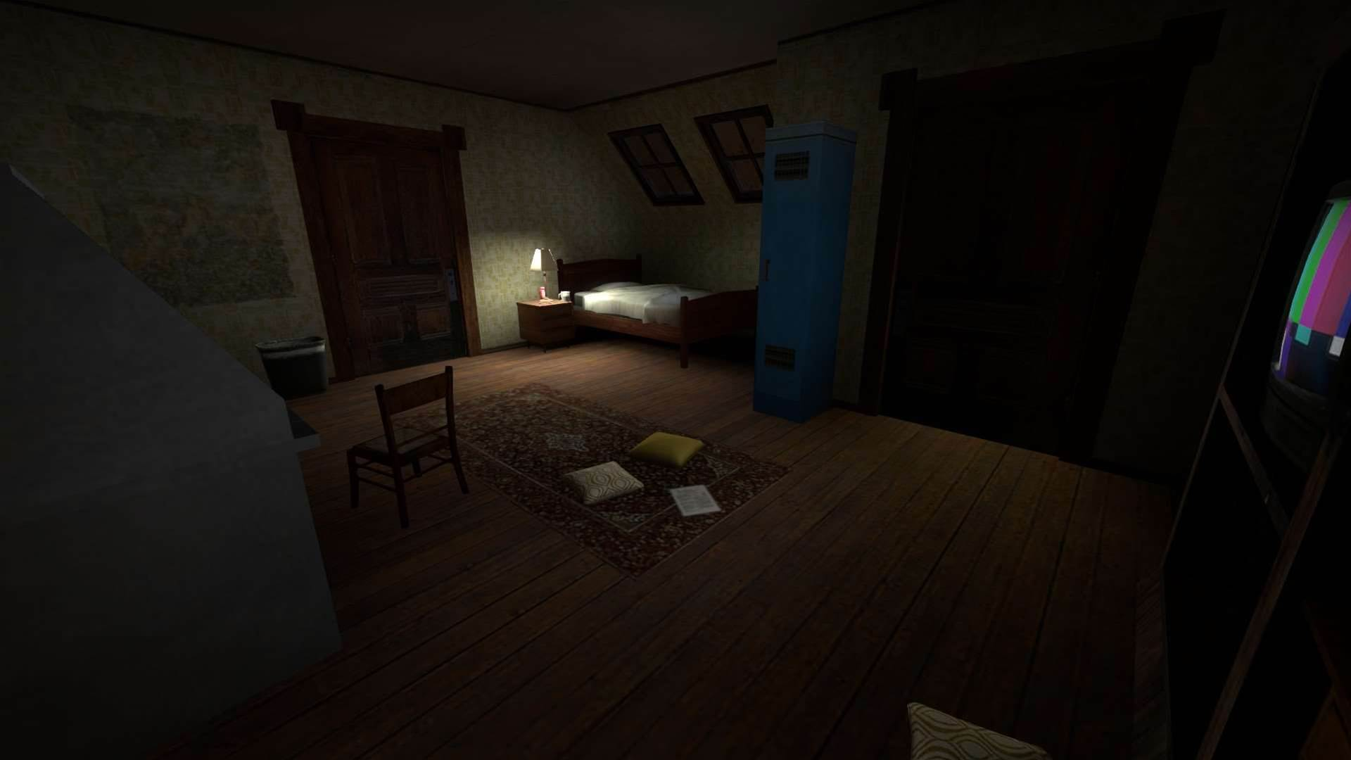 Gone Home goes Counter Strike