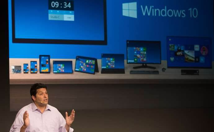 Photos: Microsoft reveals Windows 10