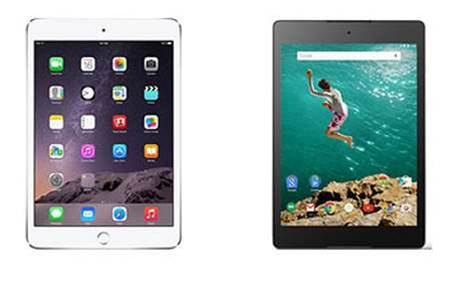 Apple iPad Air 2 vs Google Nexus 9