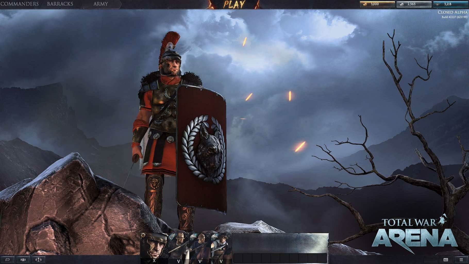 New shots from Total War: Arena