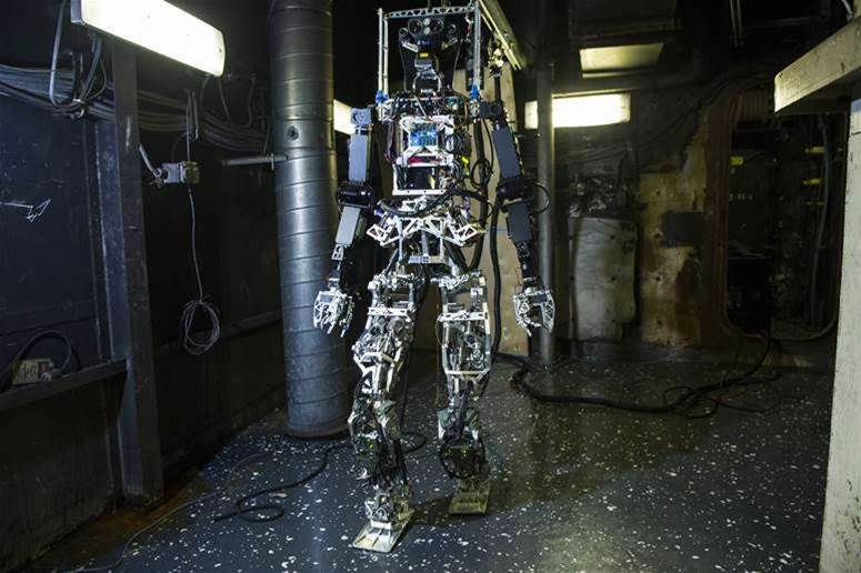 Photos: This is SAFFiR, the US Navy's fire-fighting robot