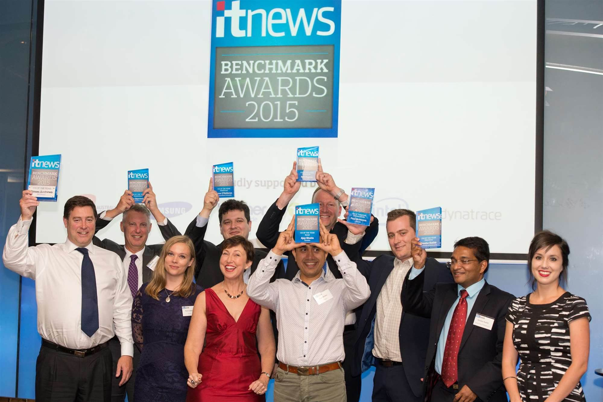 Photos: The 2015 iTnews Benchmark Awards