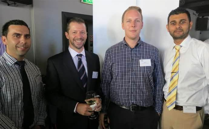 Who was spotted at Thomas Duryea's public cloud launch?