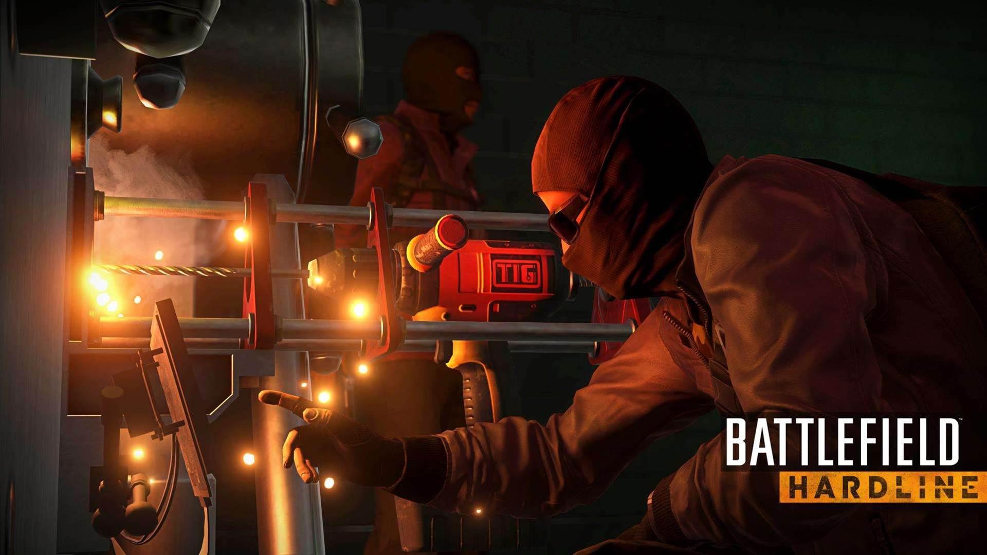 Battlefield Hardline launch screens