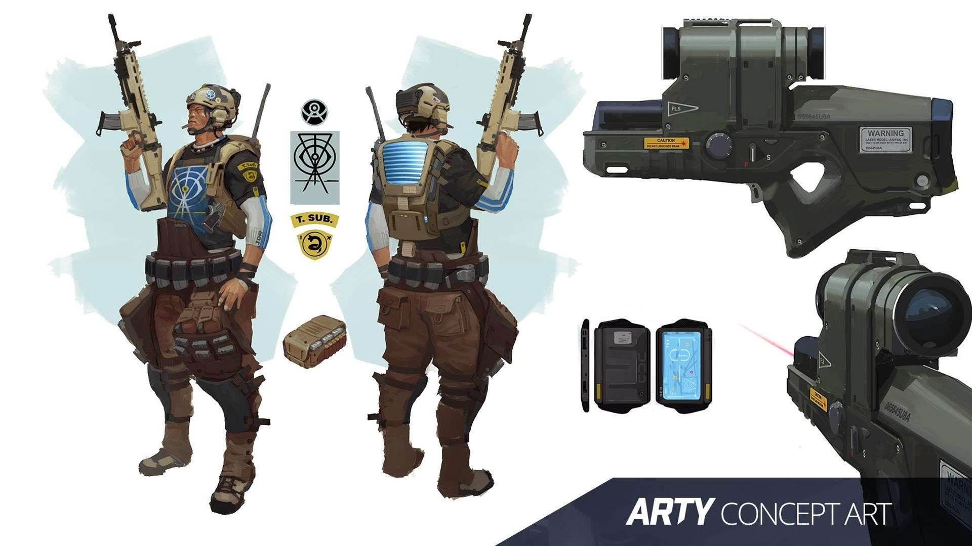 Dirty Bomb closed beta screens and concept art