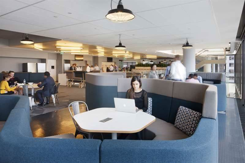 Photos: Westpac's tech-enabled workplace