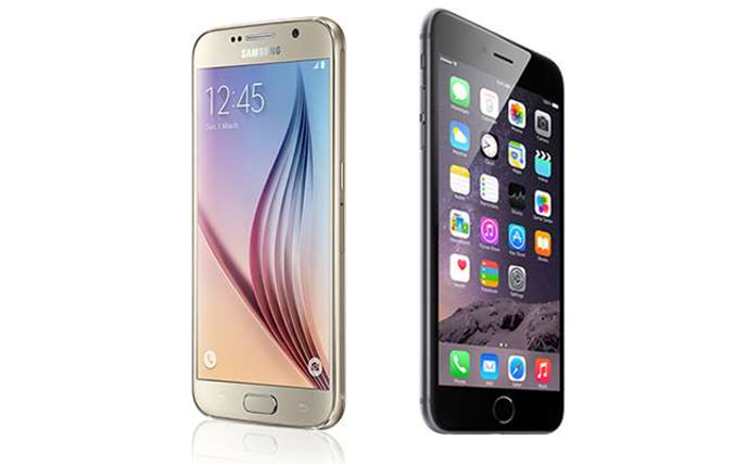 Head To head: Samsung Galaxy S6 vs iPhone 6
