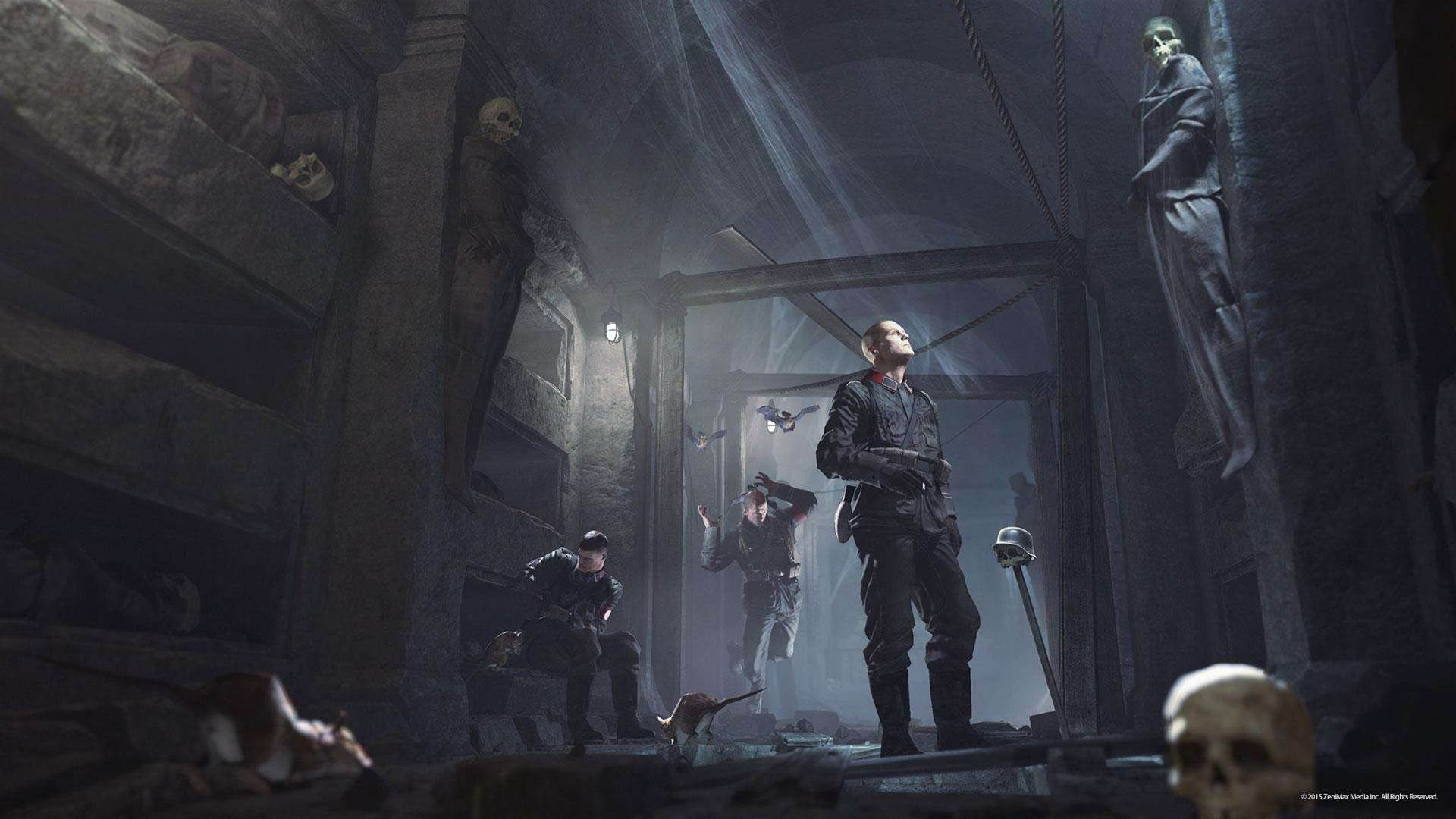 Wolfenstein: The Old Blood screens + concept art