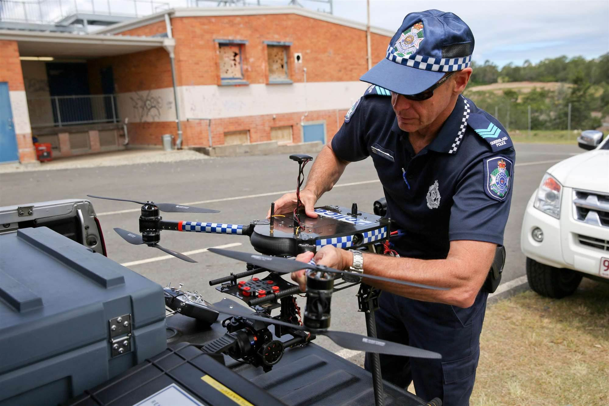 Photos: Qld Police uses drones for forensic investigations