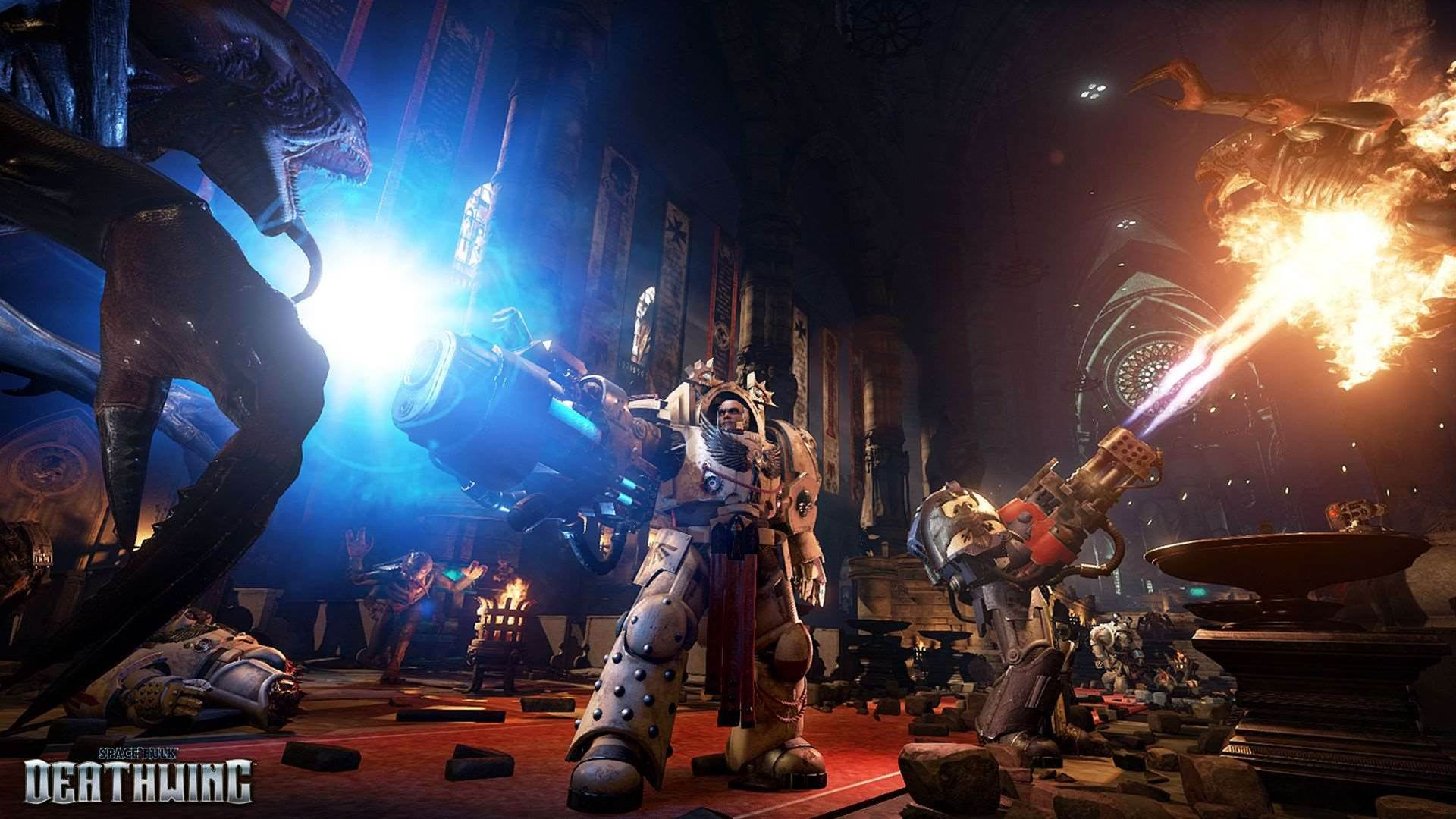 Four new screens for next year's Space Hulk: Deathwing