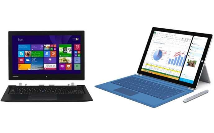 Toshiba Portege z20t vs Microsoft Surface Pro 3