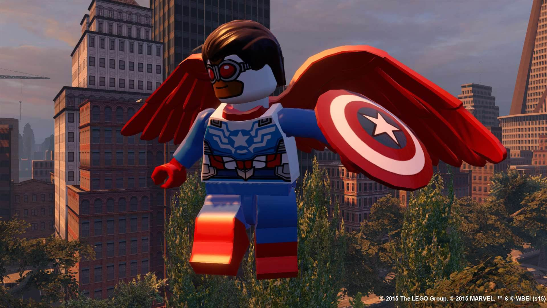 New screens emerge from Lego Marvel's Avengers