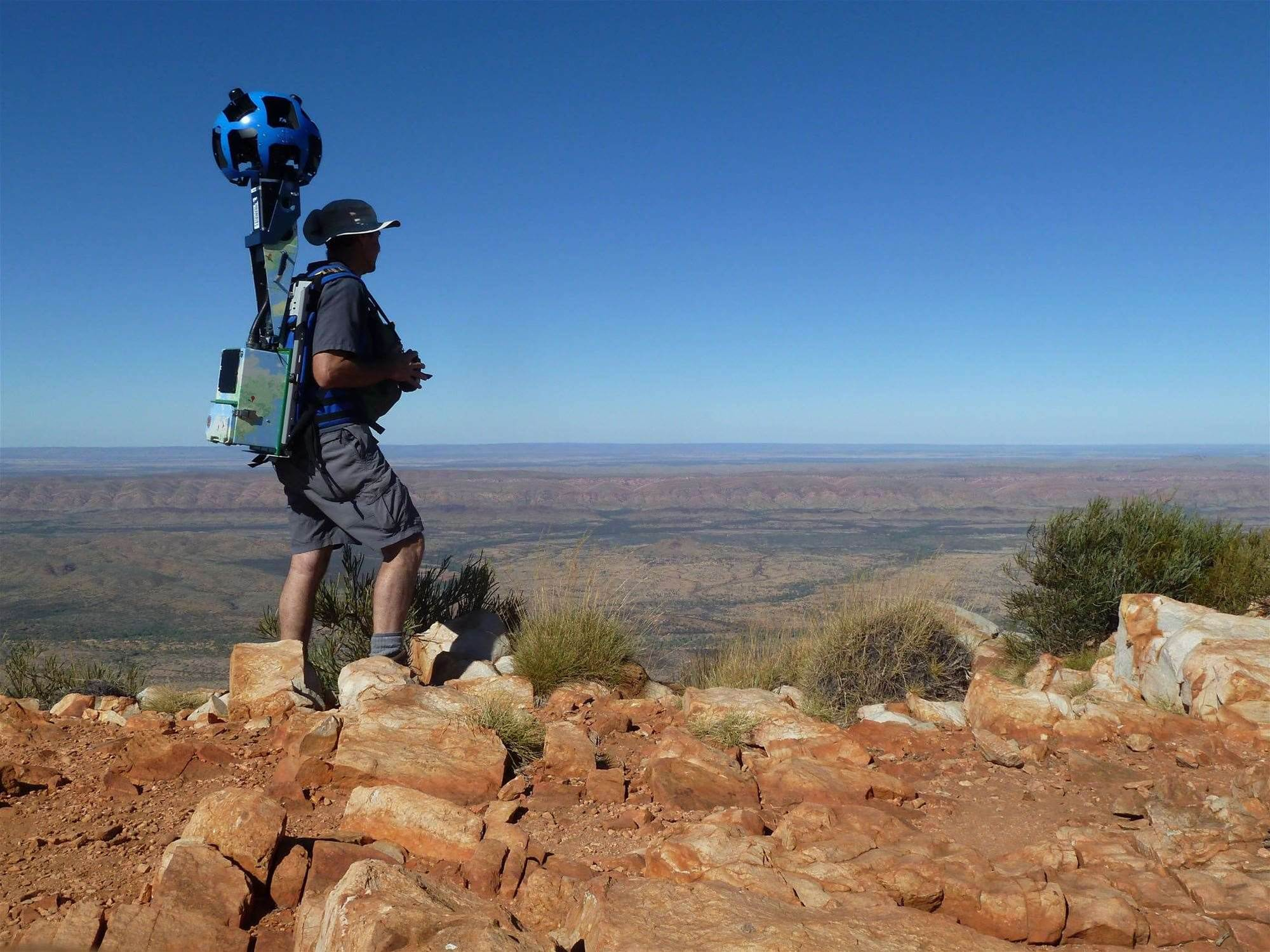 Photos: Tourism NT takes Google Maps to the outback