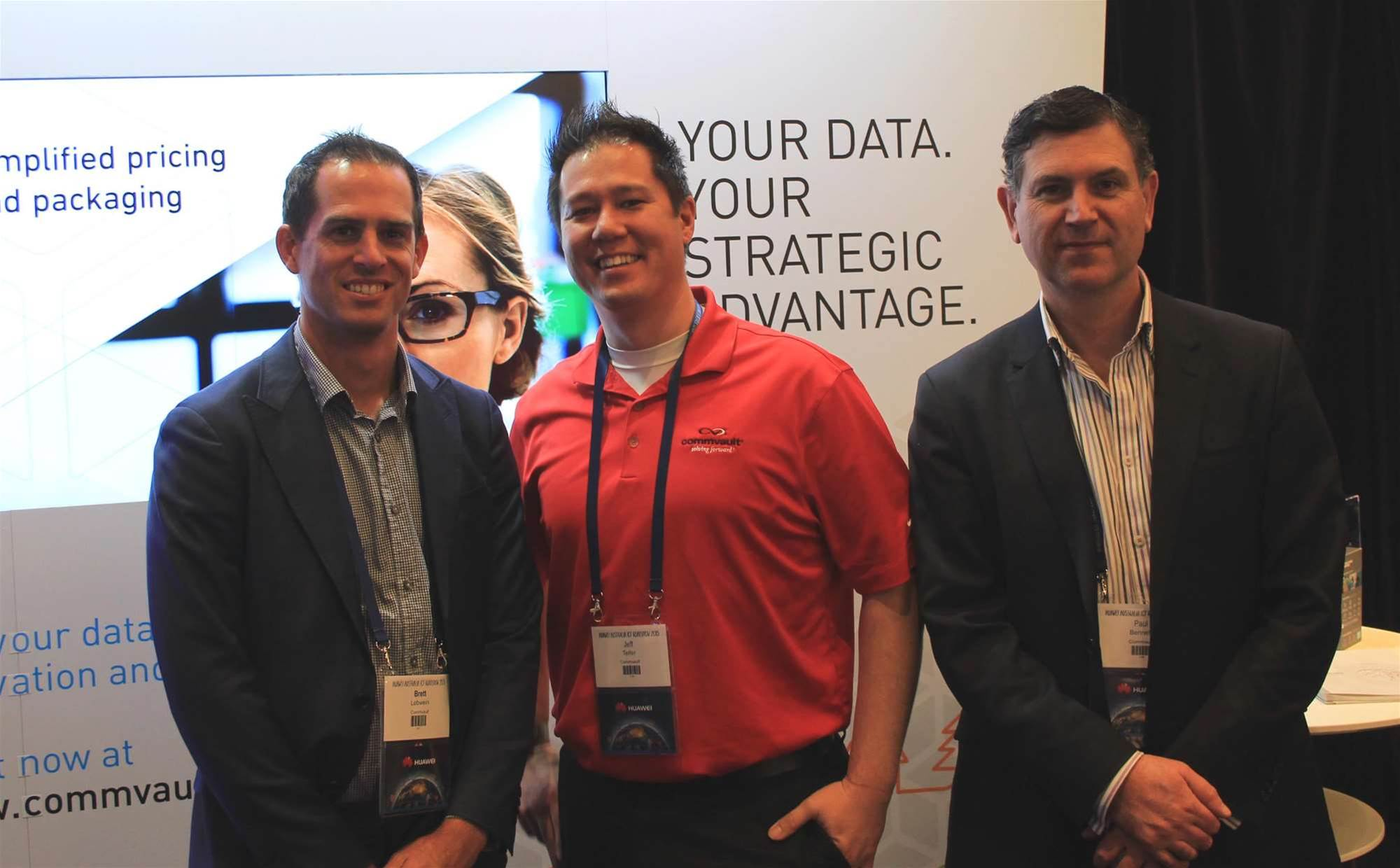 Around the stands at Huawei ICT Roadshow 2015
