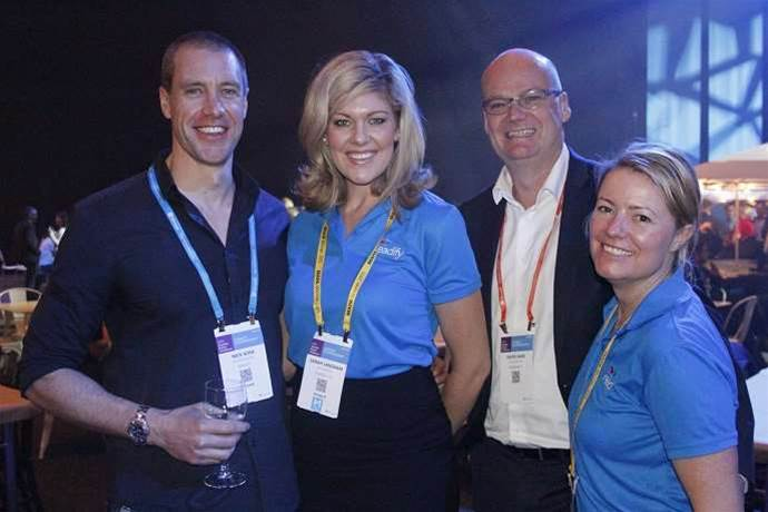 Microsoft partners mingle at APC opening night