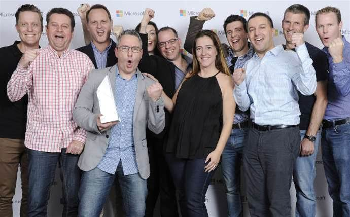 Microsoft partner award winners celebrate on the Gold Coast