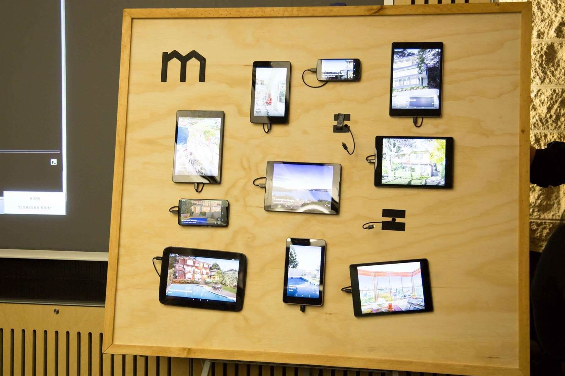 Photos: Domain's device wall
