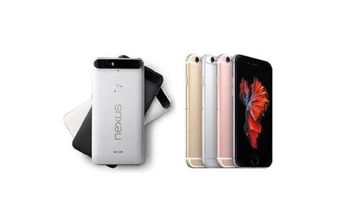 Head-to-head: Nexus 6P vs iPhone 6s Plus