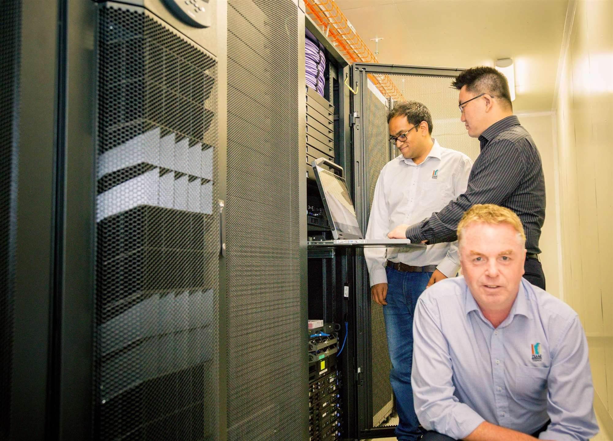 Photos: Dial-a-data centre
