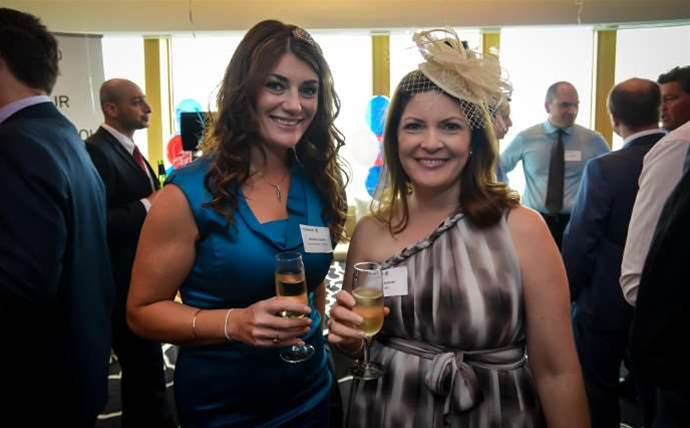 Who was at Commvault's Melbourne Cup party?