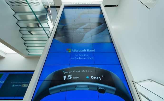 Inside Microsoft's Sydney store
