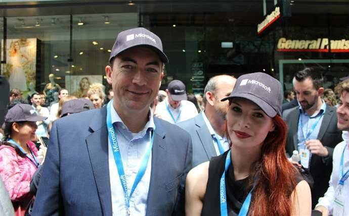Which resellers did we spot at Microsoft Sydney store opening?