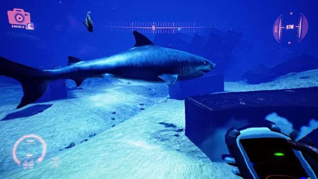 New screens from underwater horror game, Iron Fish