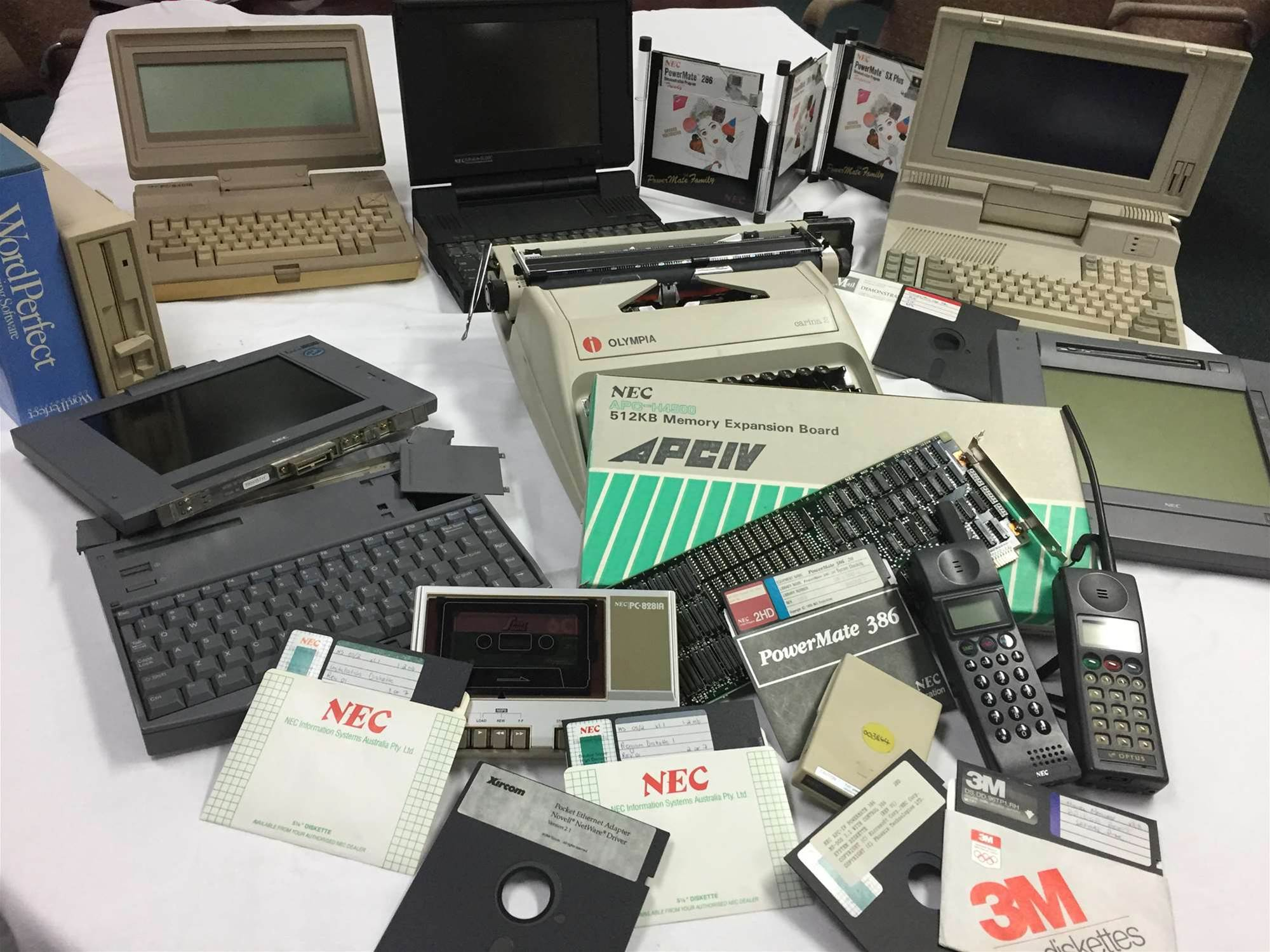 Photos: The old technology lurking in Australia's cupboards