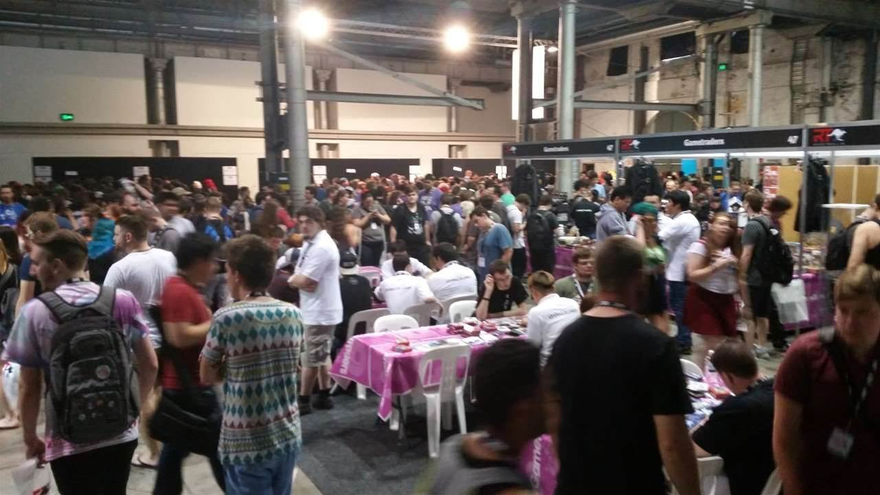 Pics from the RTX Australia show floor