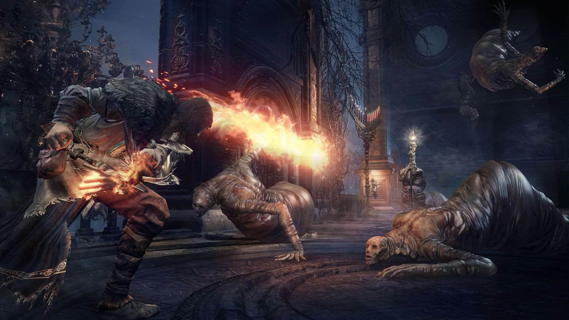 New screens and art from Dark Souls 3