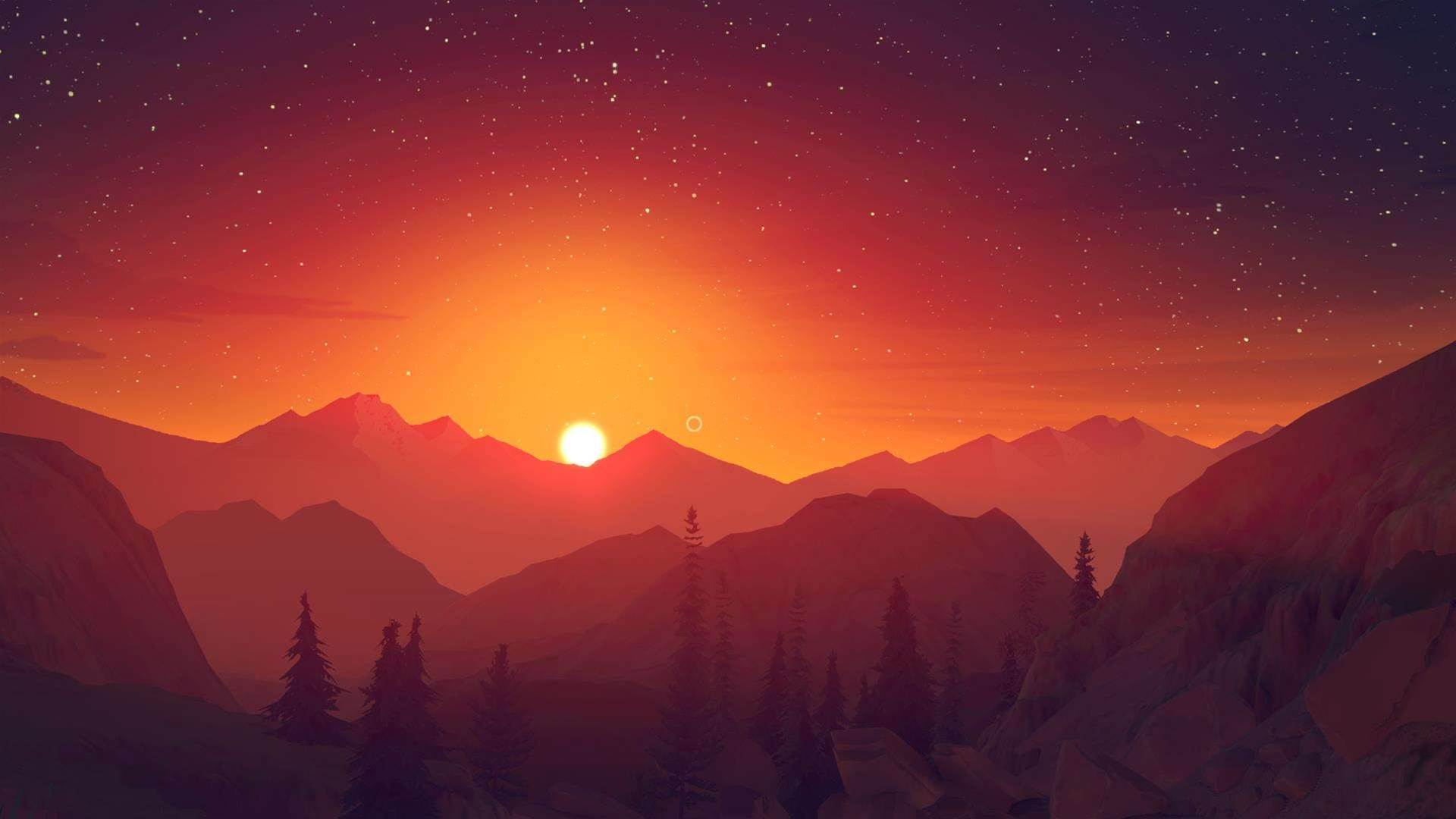 Firewatch screenshots