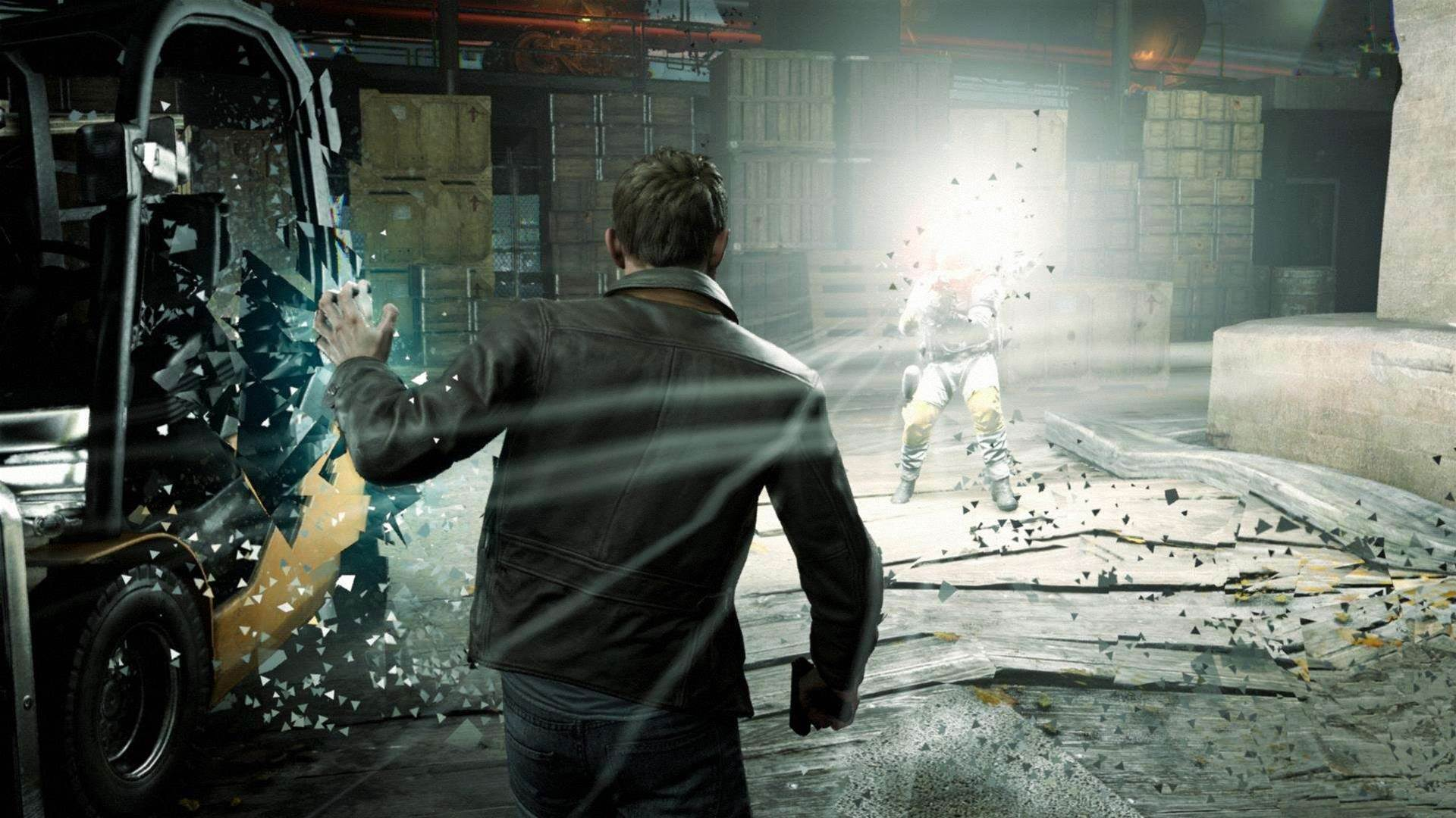 Quantum Break screens, live-action stills and concept art