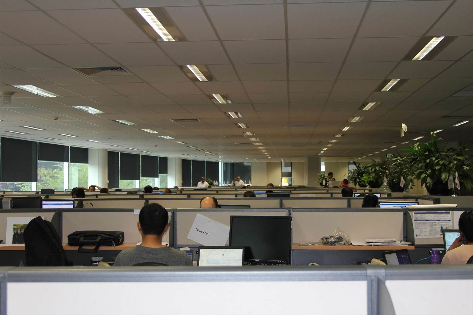 Photos: Inside the NSW govt's outsourced IT support centre