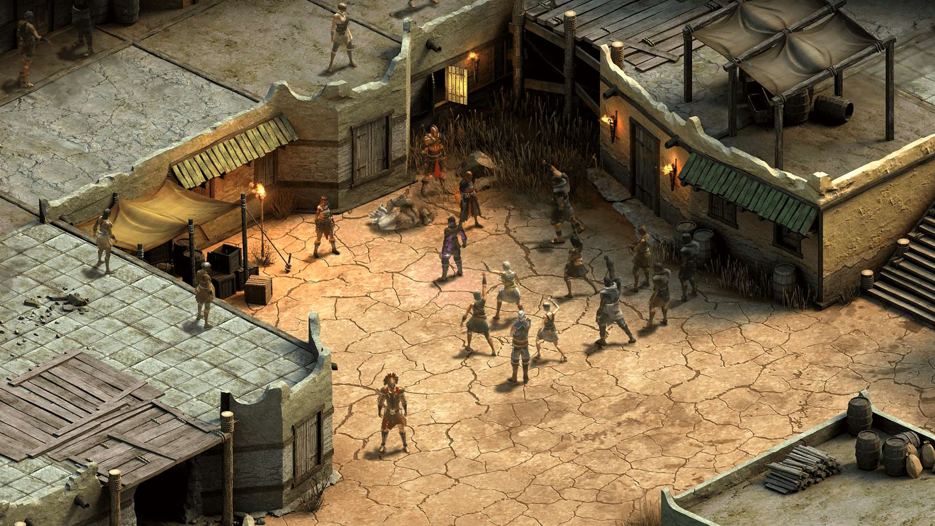 Screens from new game, Tyranny