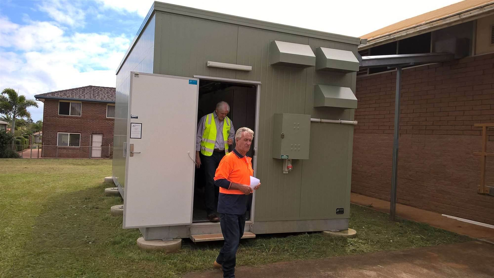 Photos: A look inside an NBN exchange