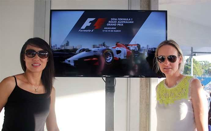 Dicker Data partners pit stop at Formula One
