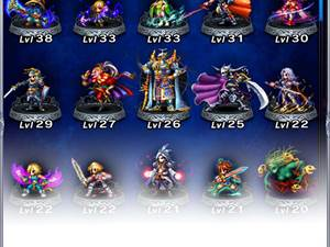 Screens from new mobile game, Final Fantasy: Brave Exvius
