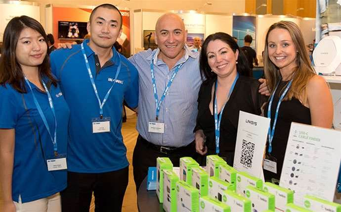 Who was at Ingram Micro Experience Sydney?