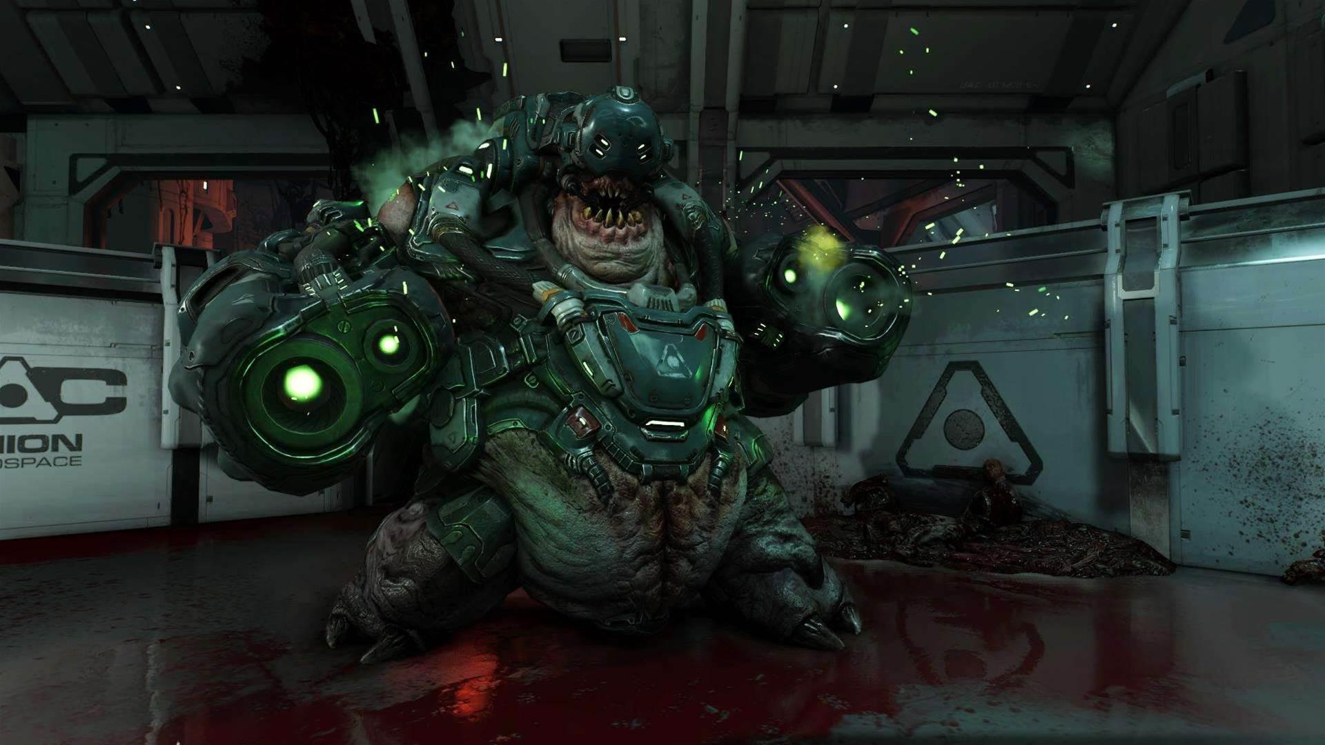 A handful of hellish new Doom screens