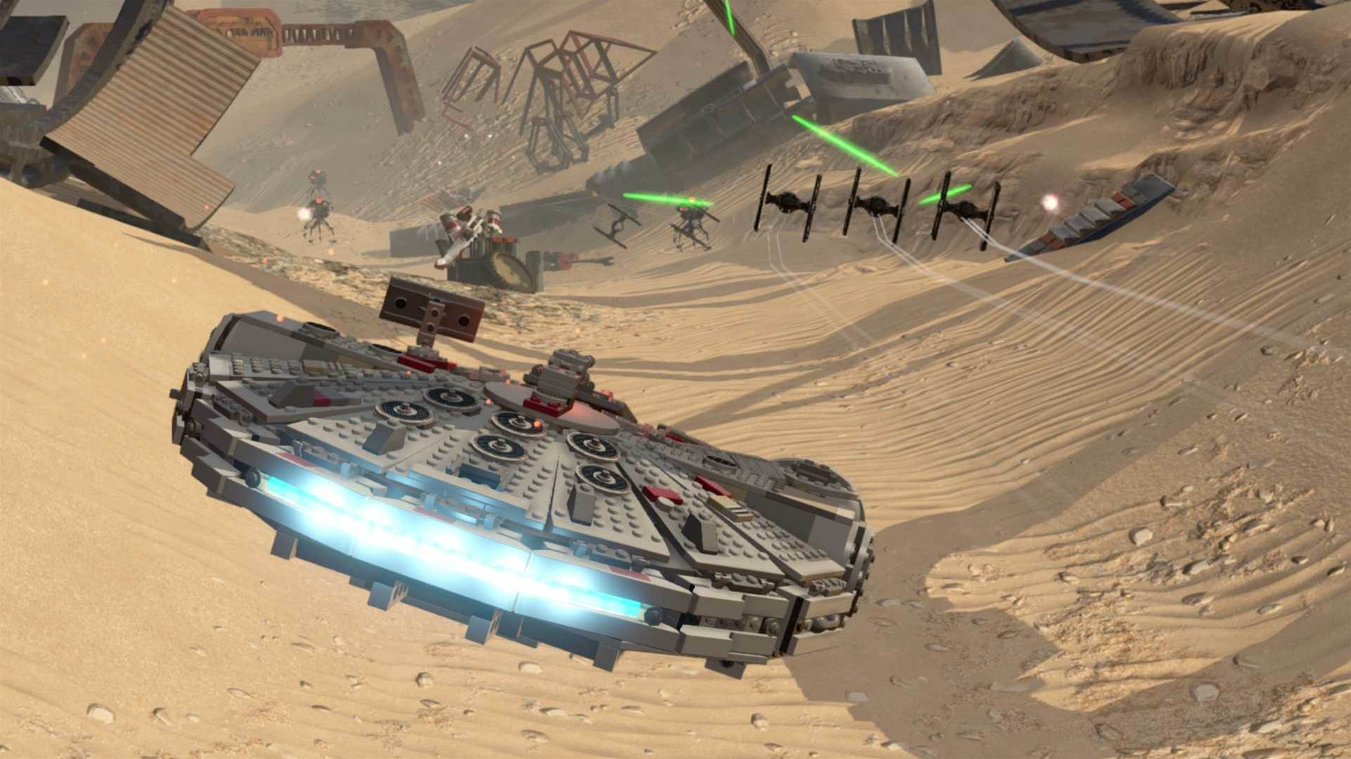 E3 2016 - Lego Star Wars: The Force Awakens screenshots